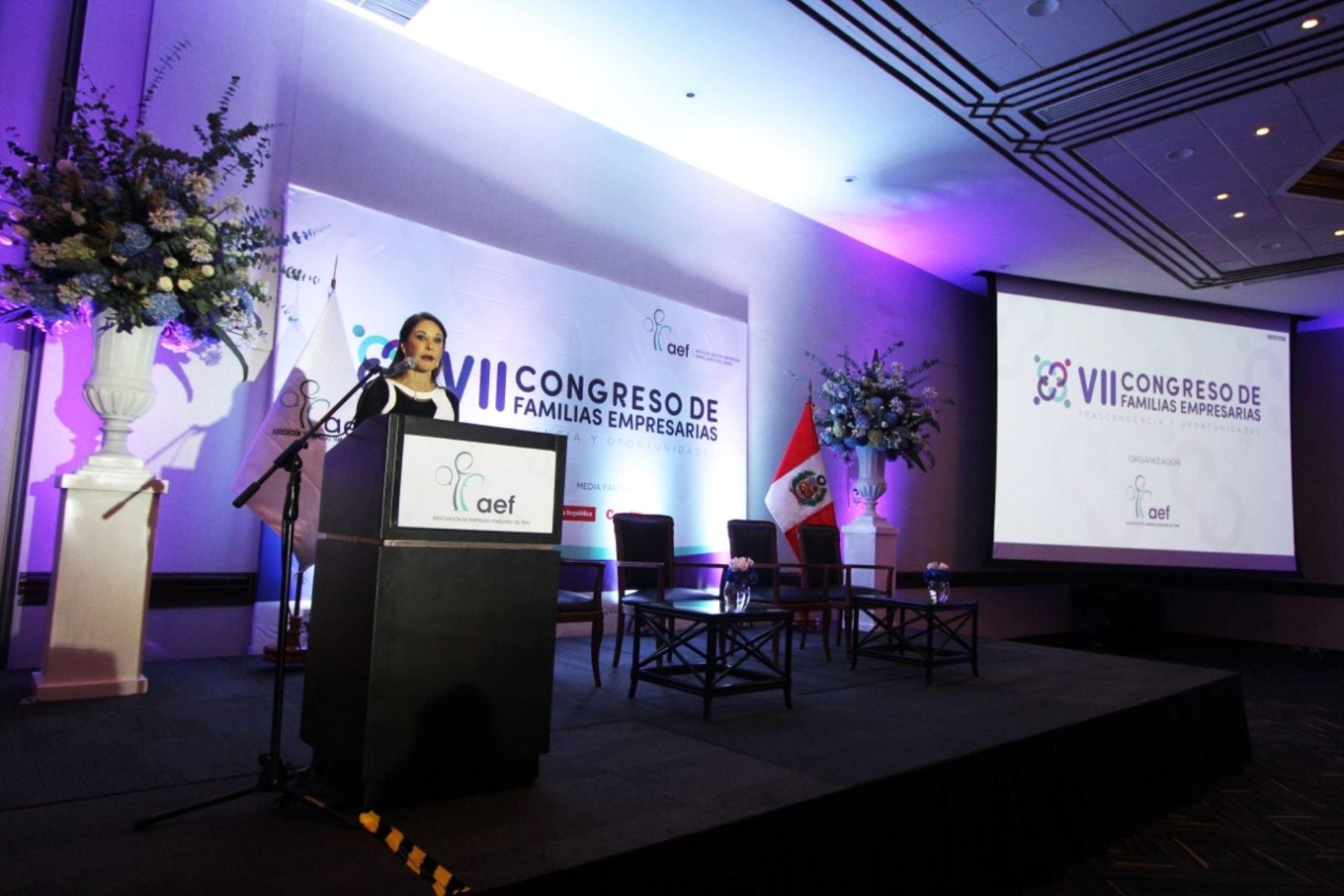 VII Congreso de Empresas Familiares en Perú. Foto: Cortesía.