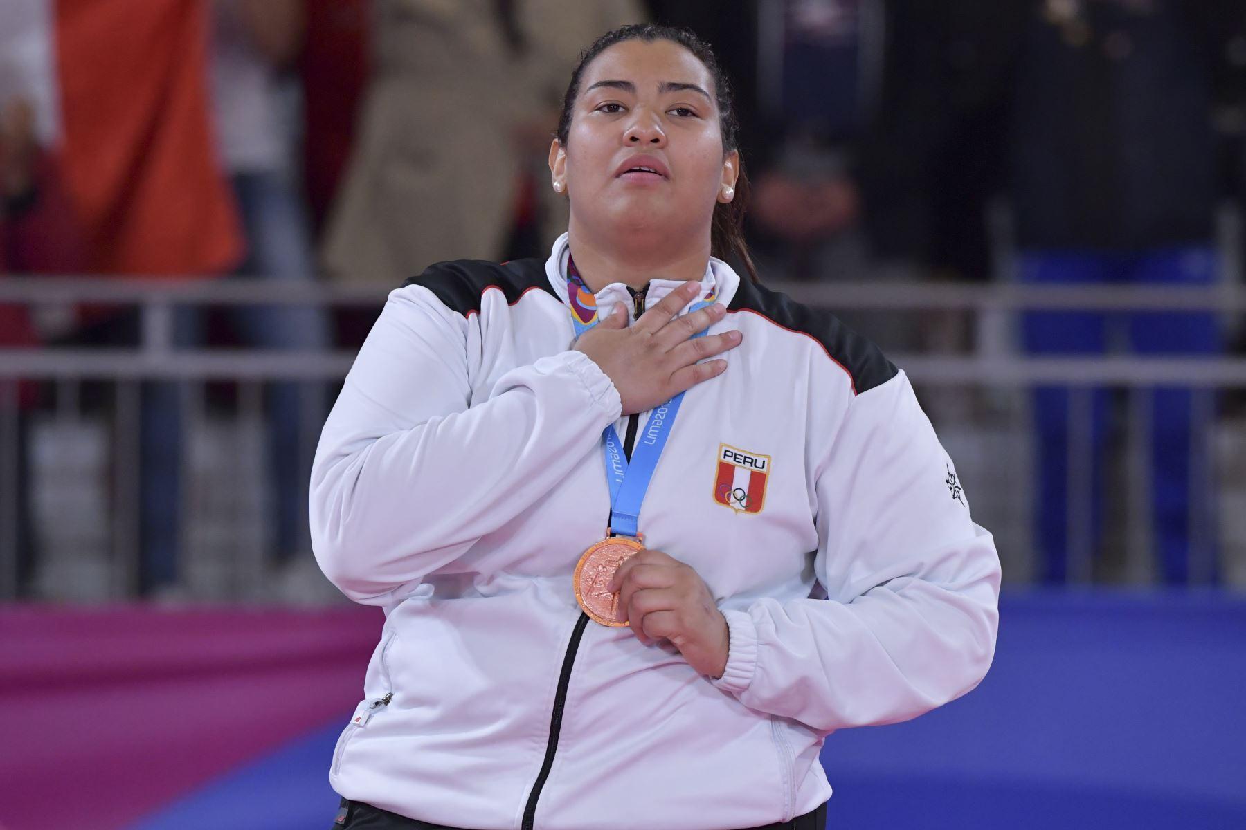 Yuliana Bolívar se quedó con la presea de bronce en judo