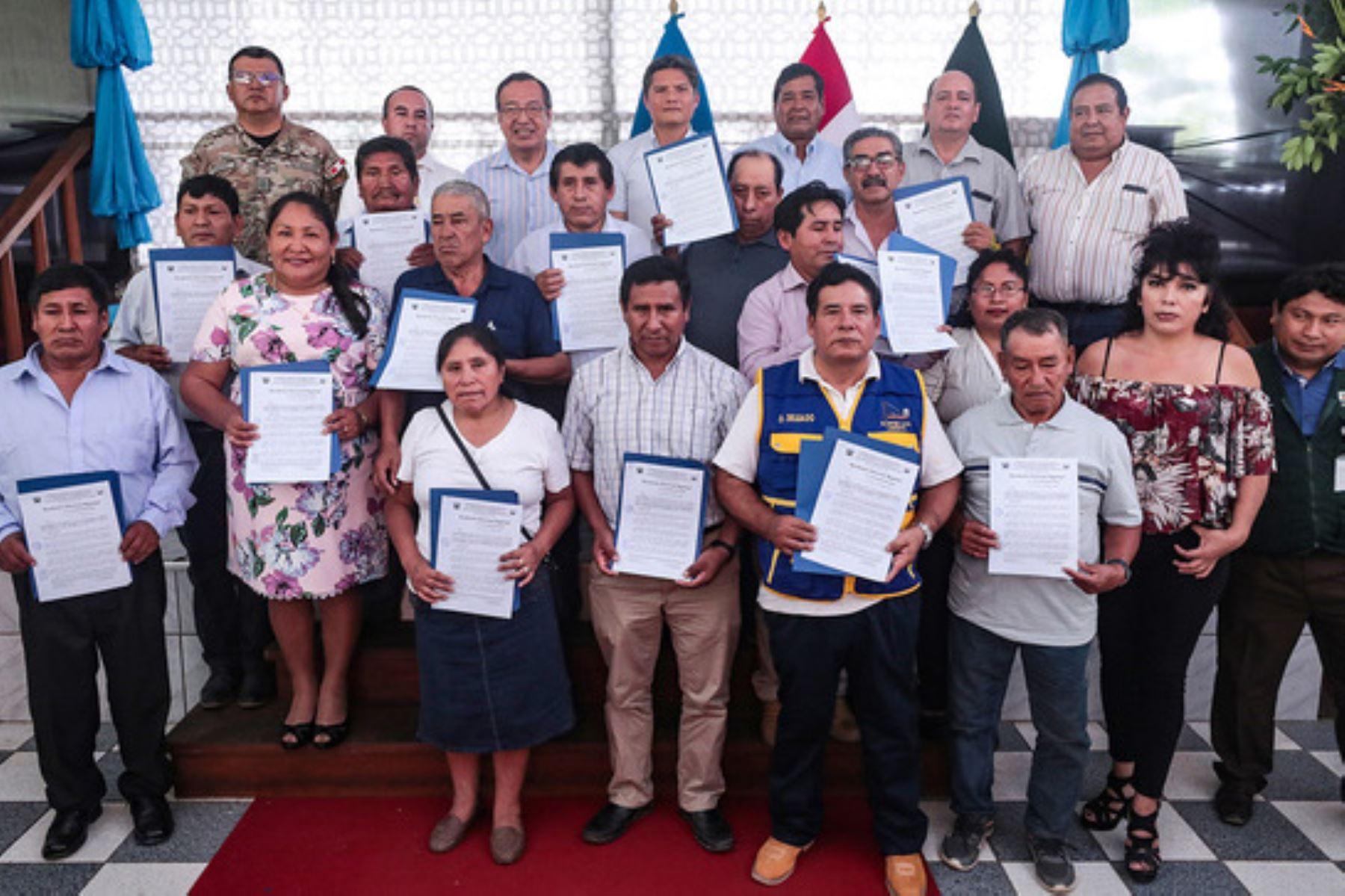 En la región Madre de Dios ya hay 117 mineros formalizados y que contribuirán al desarrollo del país, informó la Dirección General de Formalización Minera del Minem.