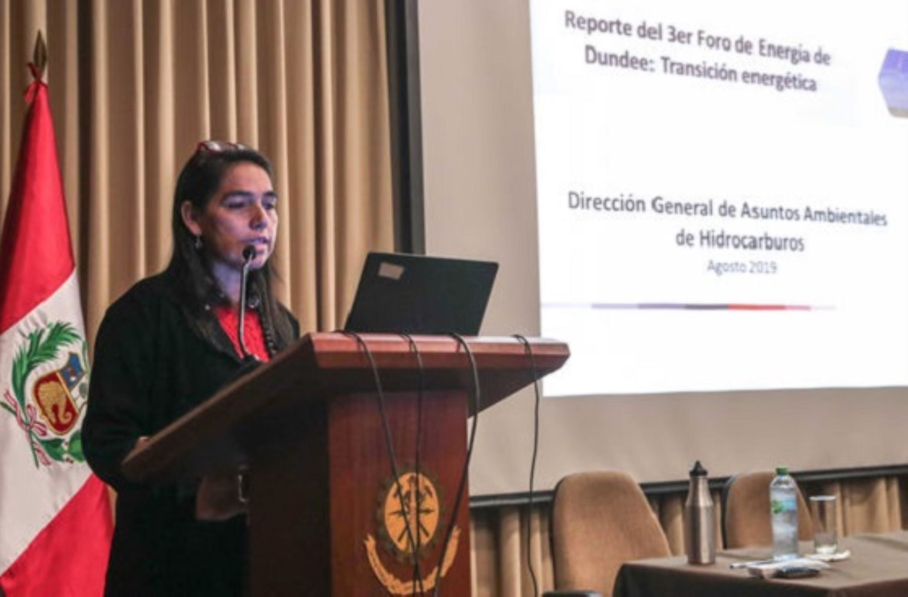 Directora General de Asuntos Ambientales de Hidrocarburos,  Martha Aldana Durán. Foto: Cortesía.