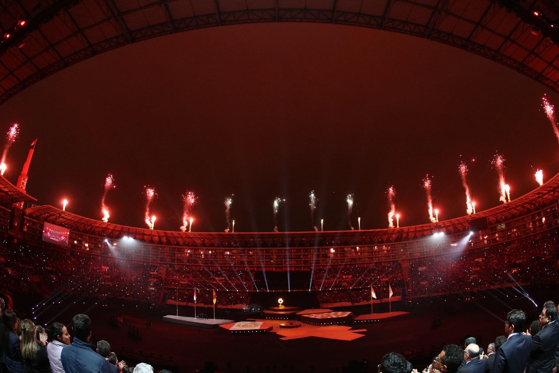 Los Juegos Panamericanos llegan este domingo a su fin con una fiesta interminable. Foto: Twitter/@BalichWS