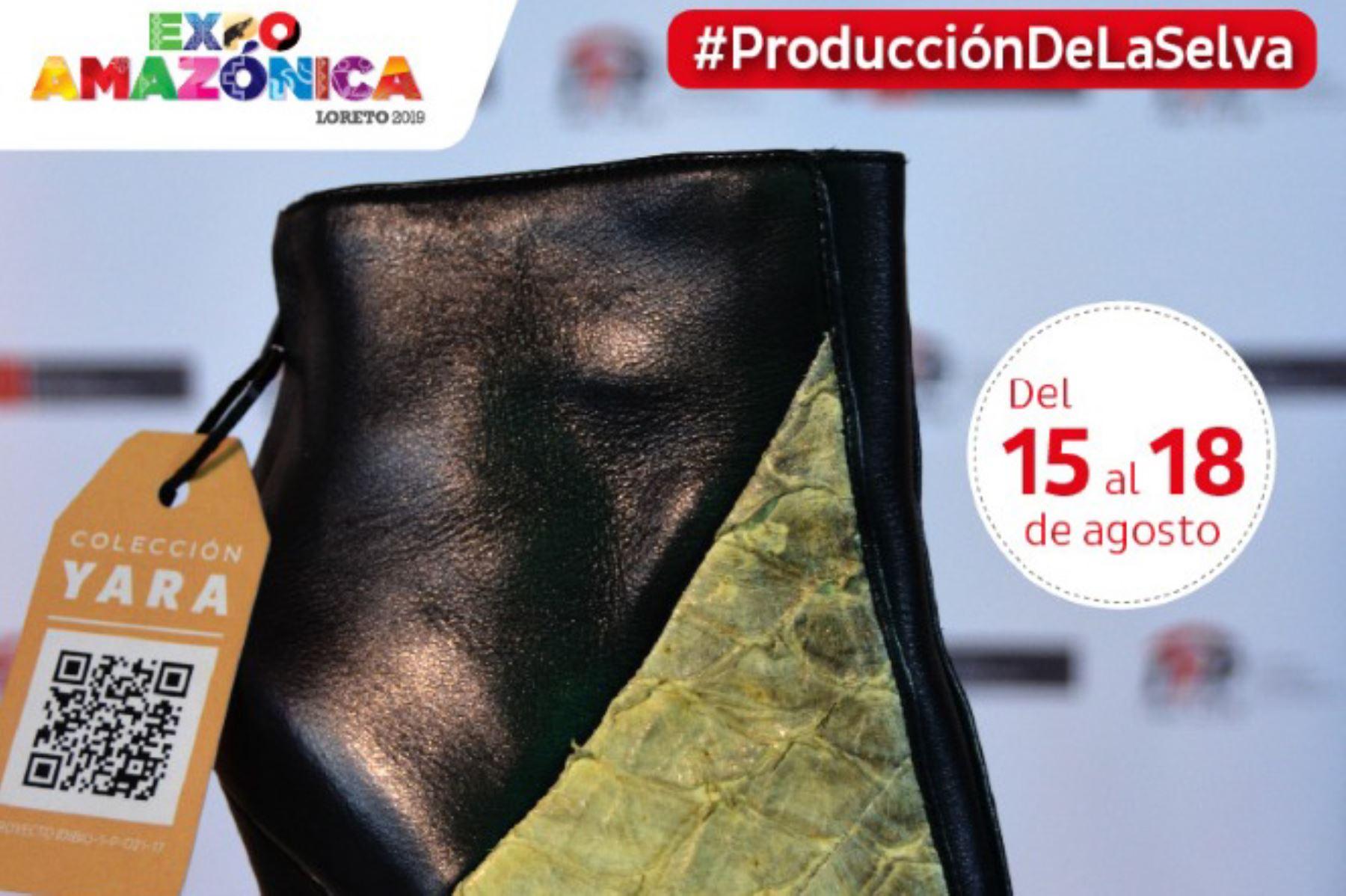 Productos innovadores serán la mayor atracción de Expoamazónica 2019 que se desarrollará en Iquitos, Loreto, desde este jueves 15. ANDINA/Difusión