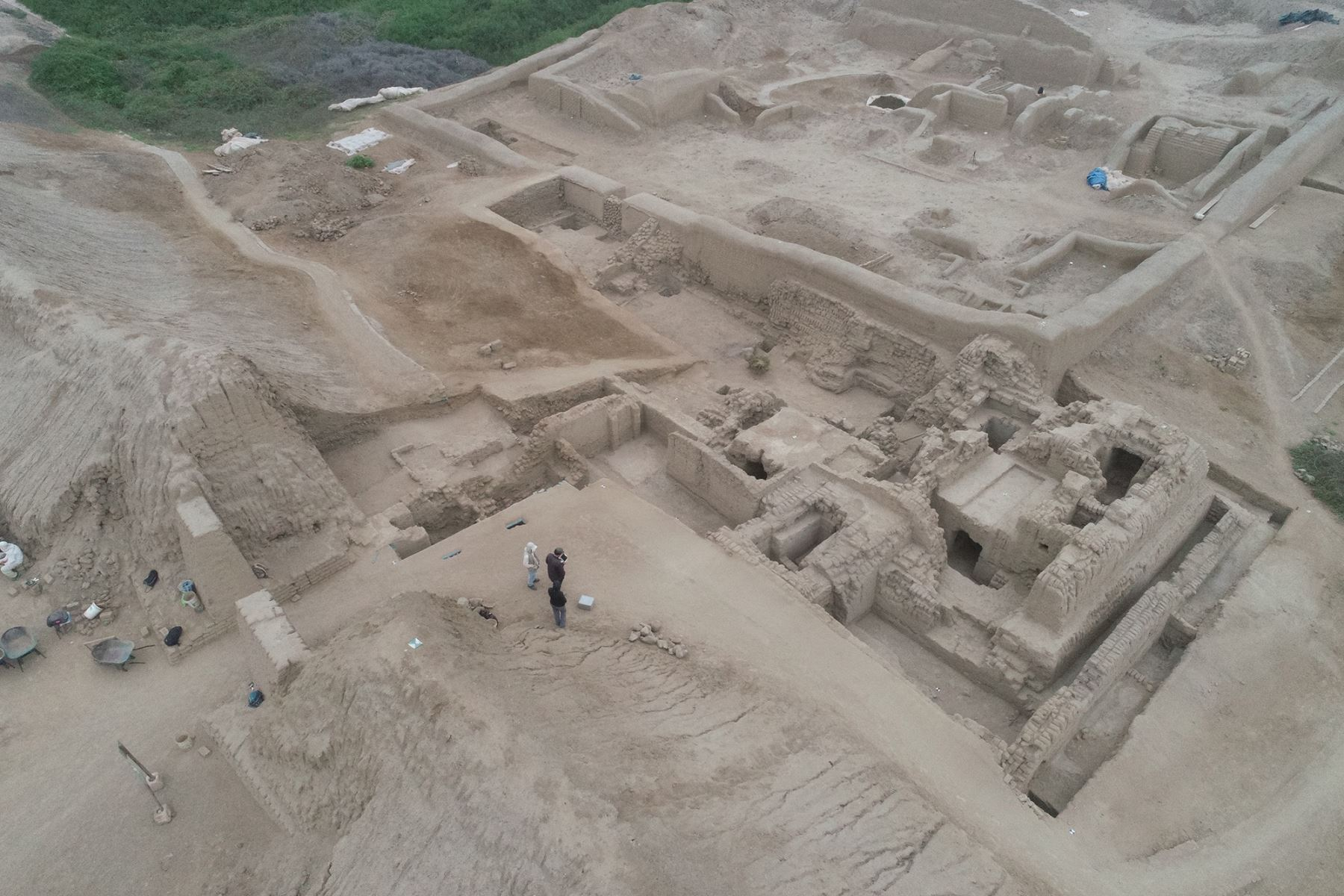 La plataforma funeraria Chayhuac An es uno de los diez conjuntos amurallados que conforman el Complejo Arqueológico Chan Chan (La Libertad).