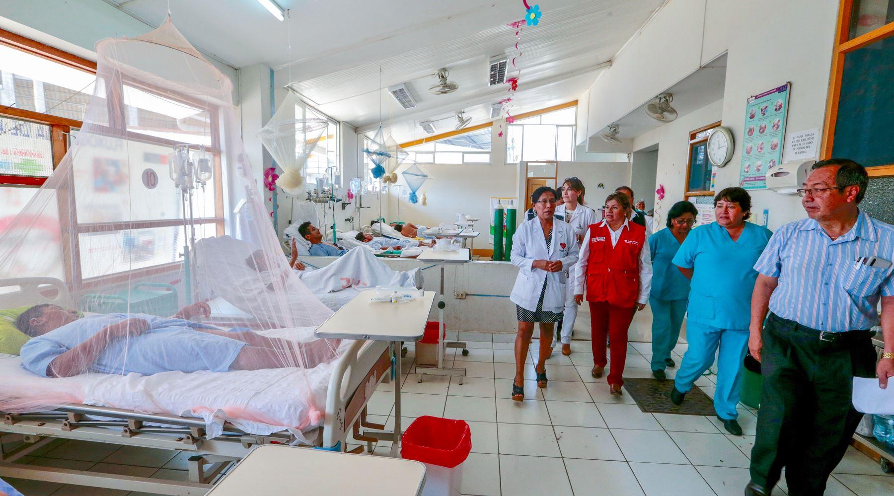 Ministra de Salud, Zulema Tomás anuncia la construcción de dos nuevos hospitales en Madre de Dios. Así mismo visitó centros de salud para conocer las necesidades de cada establecimiento.  Foto: MINSA