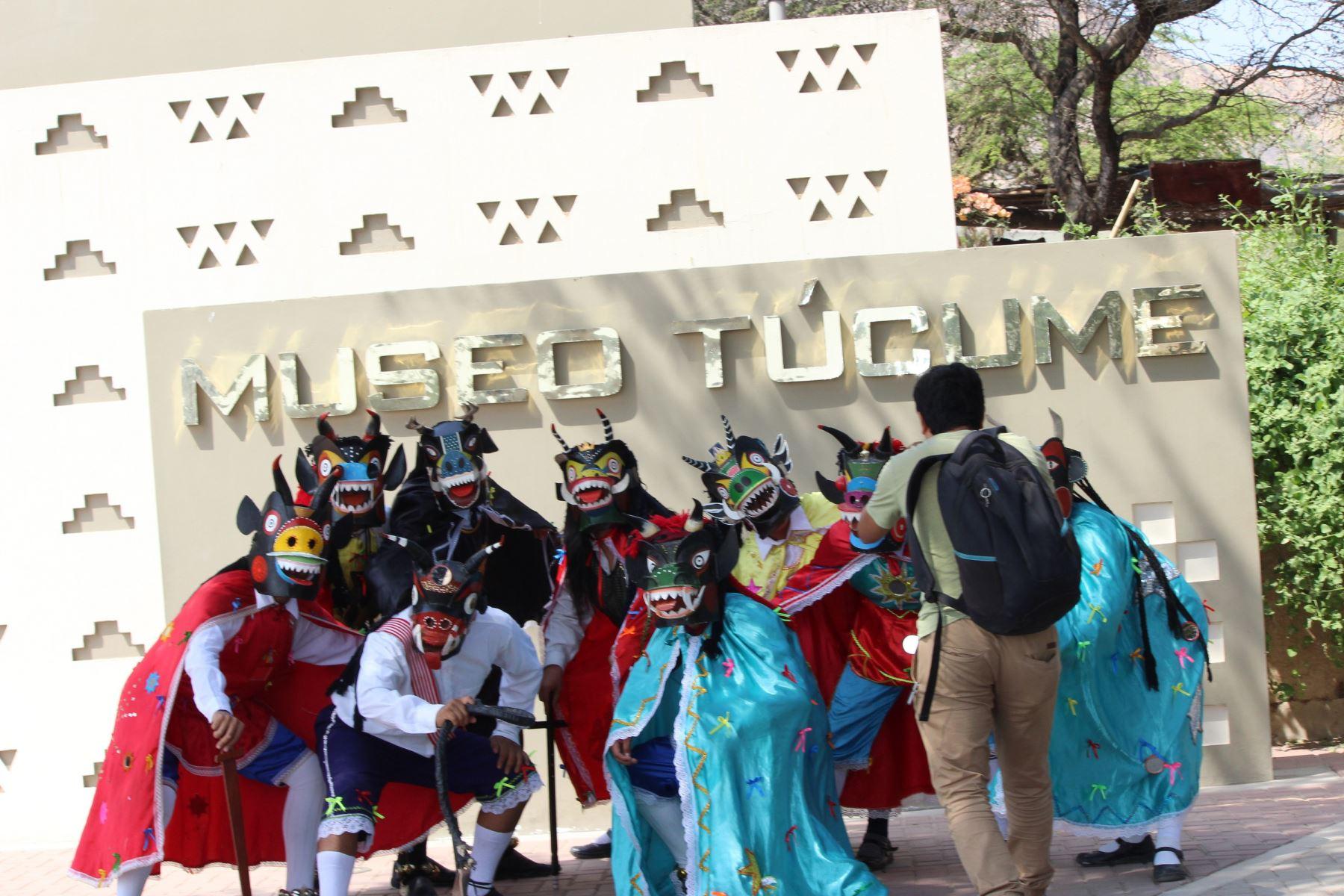 Comenzaron las actividades por el 27º aniversario de creación del Museo de Sitio Túcume, ubicado en la región Lambayeque. Foto: ANDINA/Archivo/Silvia Depaz