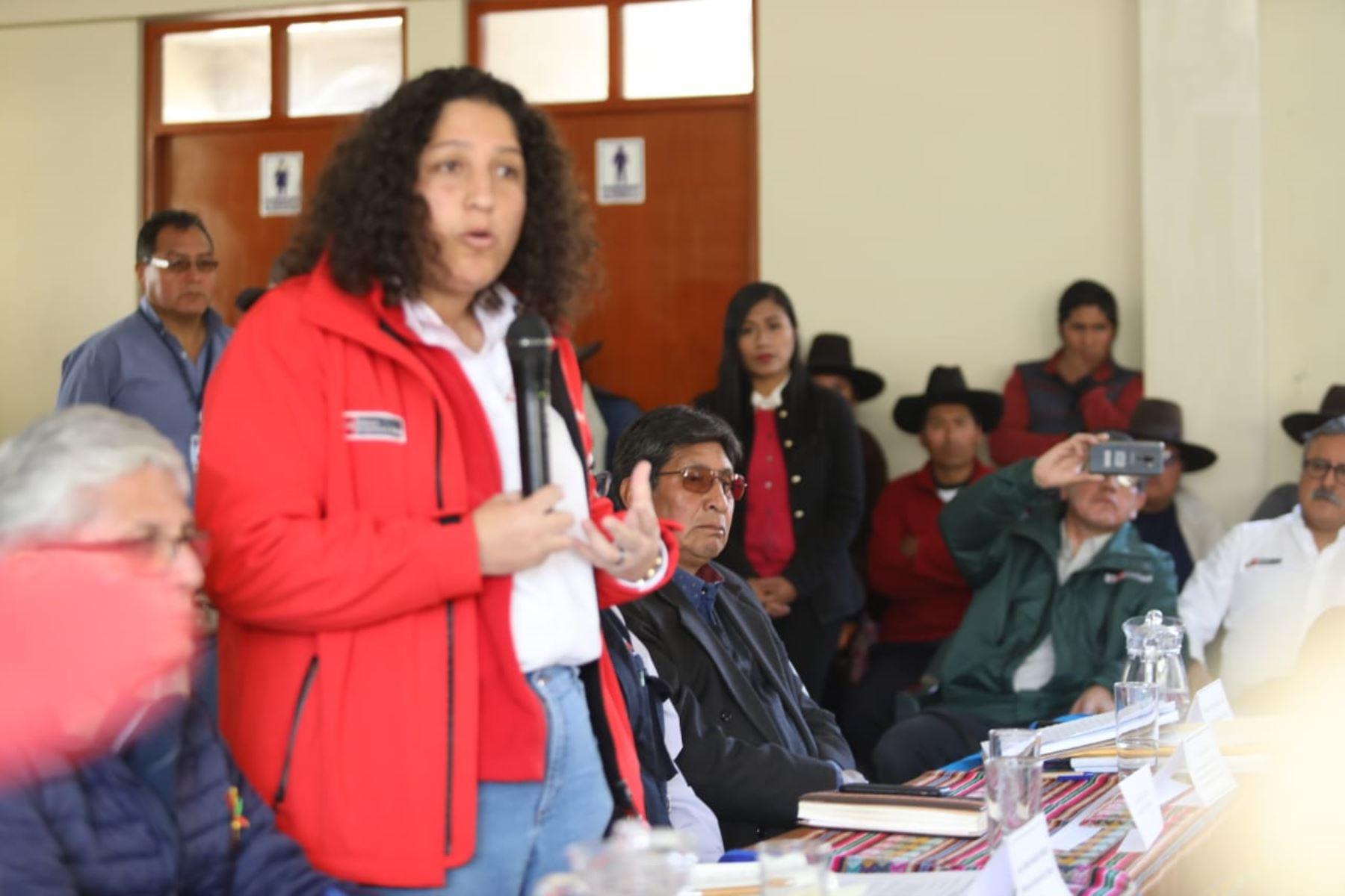 Minagri ratifica voluntad de diálogo para solucionar problemáticas de Tacna. ANDINA/Difusión
