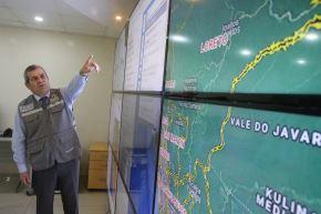 El jefe del Cenepred, vicealmirante (r) Wladimiro Giovannini y Freire, indicó que el Plan de Prevención y Reducción del Riesgo de Desastres permite conocer los riesgos existentes. Foto: ANDINA/Eddy Ramos