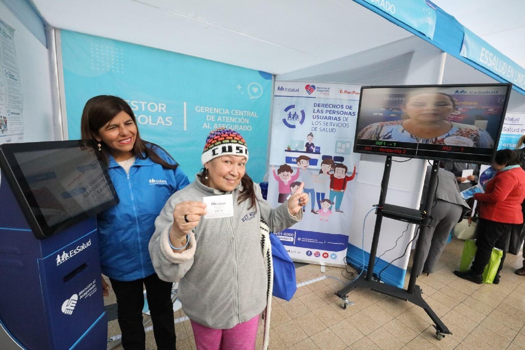 EsSalud realiza feria informativa en el Día Nacional de la Salud y Buen Trato al Paciente Foto: Difusión
