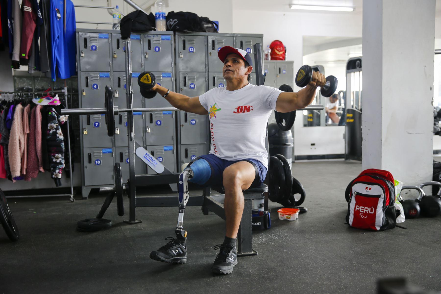 Miguel Siesquen es para deportista peruano que estará presente en los Juegos Parapanamericanos Lima 2019. ANDINA/Renato Pajuelo