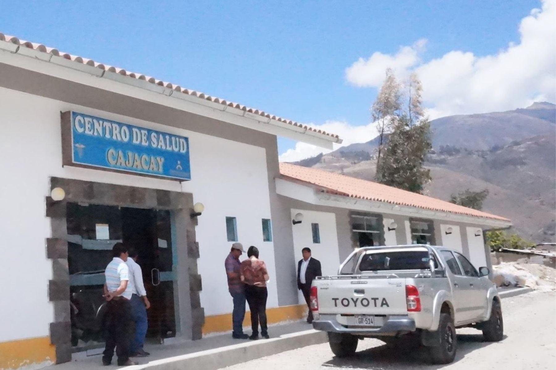 Un sismo de magnitud 3.7 se registró a las 16:58 horas en el distrito de Cajacay, región Áncash. Foto: ANDINA/Difusión