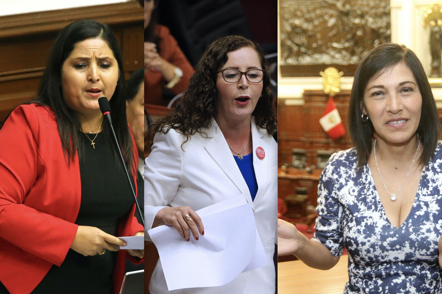 FP elige como vocera a Milagros Salazar y ratifica a Rosa Bartra en Constitución