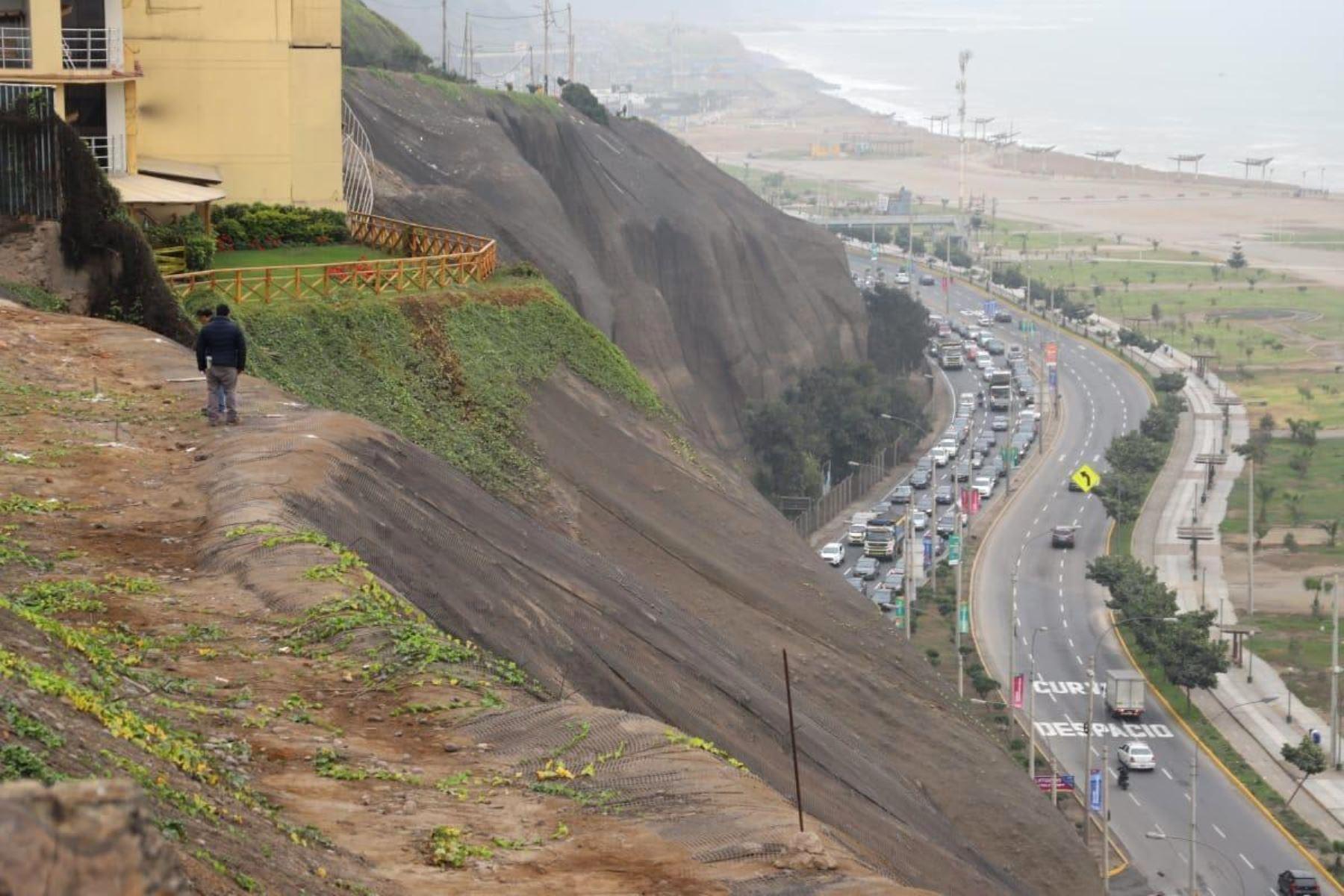 Costa Verde: Magdalena del Mar pide declarar en emergencia los acantilados. Foto: ANDINA/difusión.