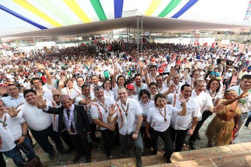 Presidente del Consejo de Ministros, Salvador del Solar, inaugura ExpoAmazónica 2019 en Loreto
