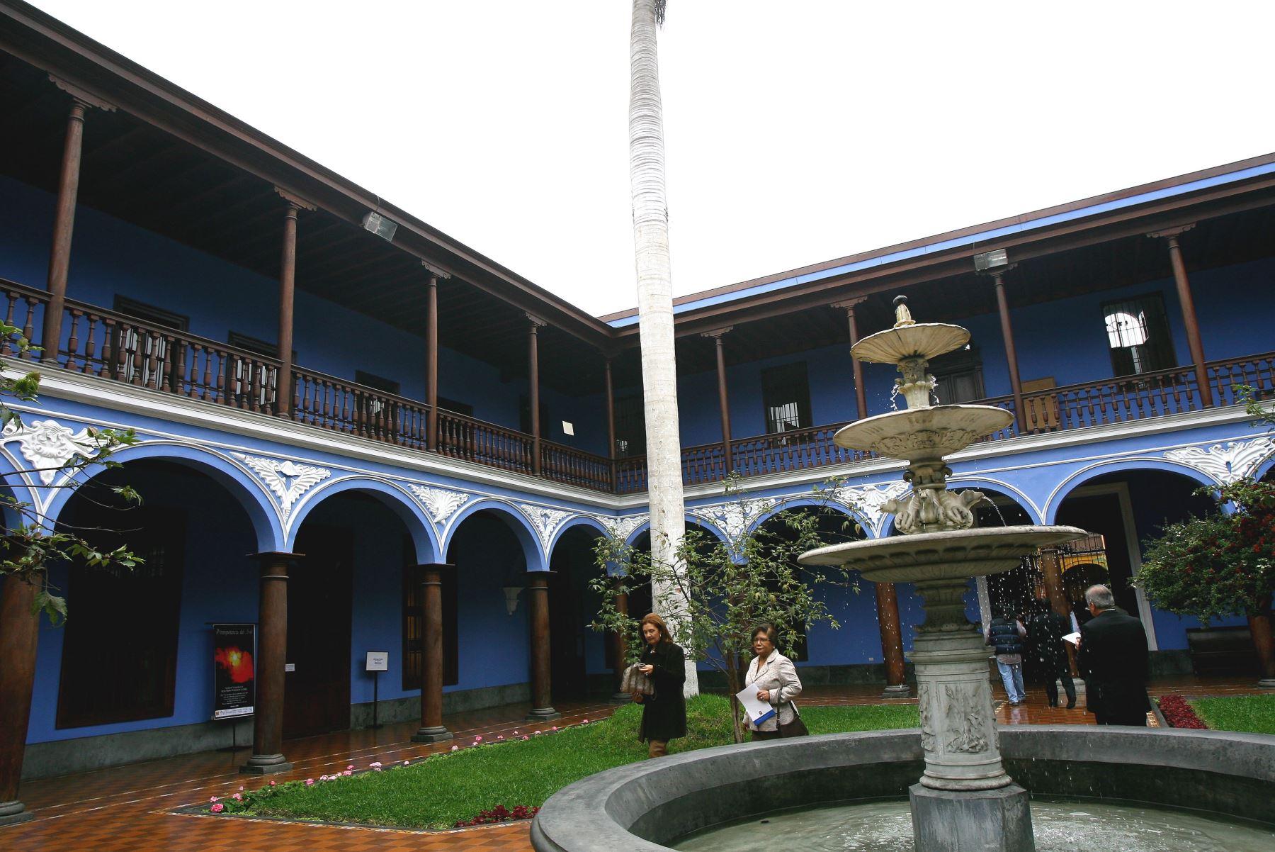 Centro Cultural de San Marcos, sede de la Cumbre de Rectores Perú-Japón. ANDINA/archivo