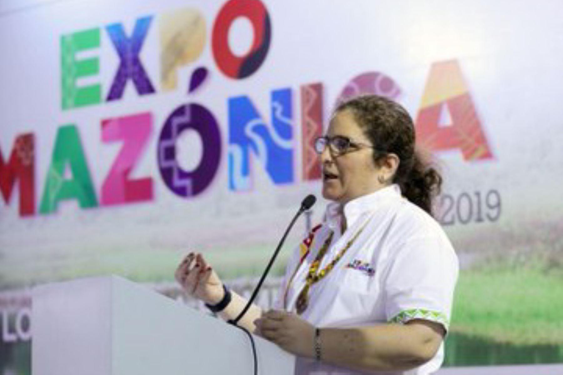 La Amazonia peruana tiene todo para ser el emblema del país, sostuvo la ministra del Ambiente, Lucía Ruíz durante su participación en Expoamazónica 2019 que se realiza en Iquitos, capital de la región Loreto.