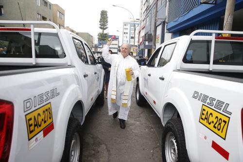 Migraciones adquiere vehículos para fiscalización migratoria