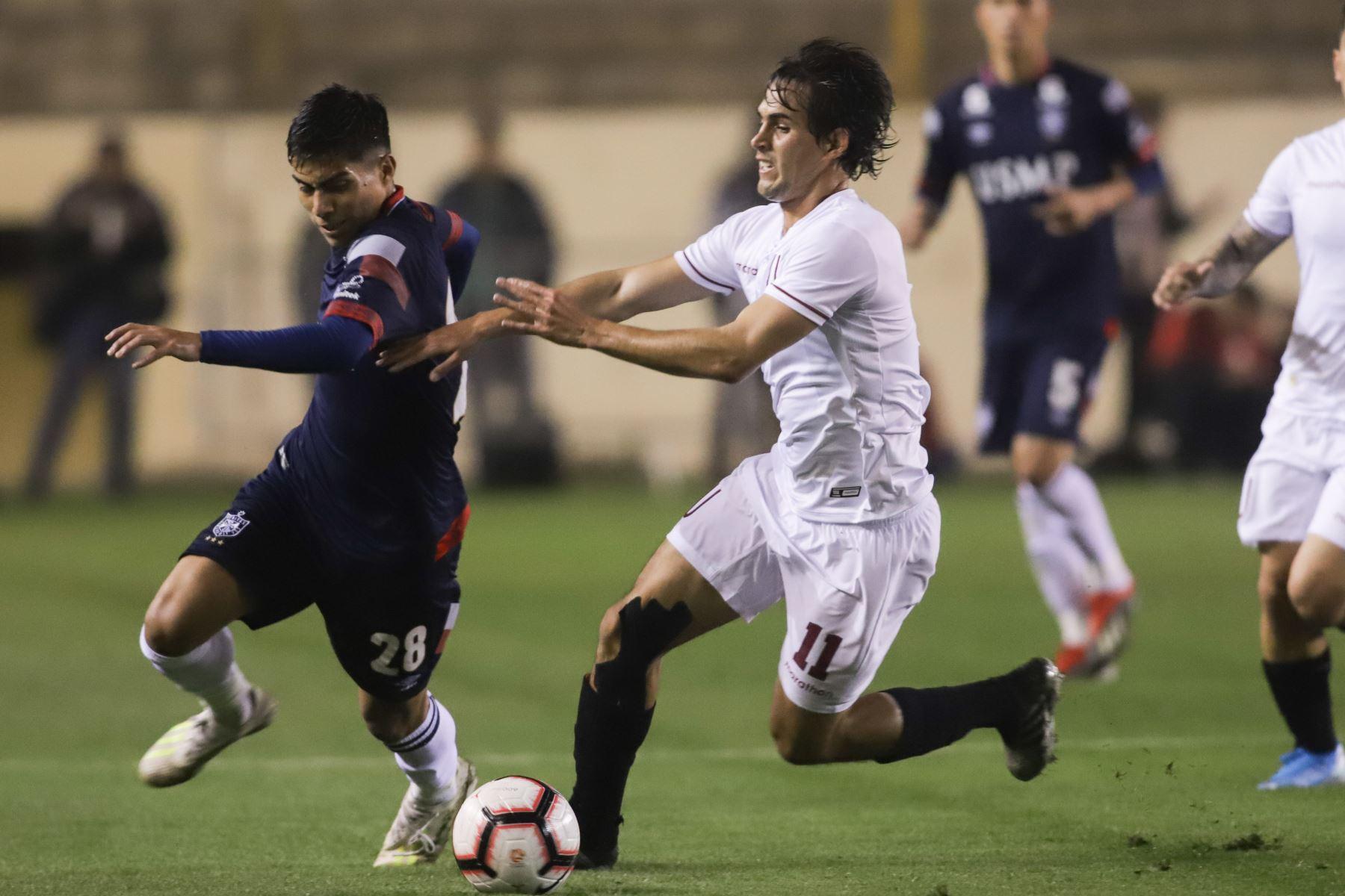 Partido entre Universitario vs. San Martín, empatan 0-0 en el estadio Monumental de Ate.Foto:ANDINA/ Jorge Tello