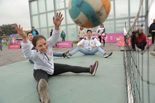 """Medallistas panamericanos participan en el festival paradeportivo """"La fiesta continúa"""""""