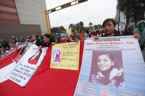 Ni Una Menos: marchan en contra de la violencia hacia la mujer