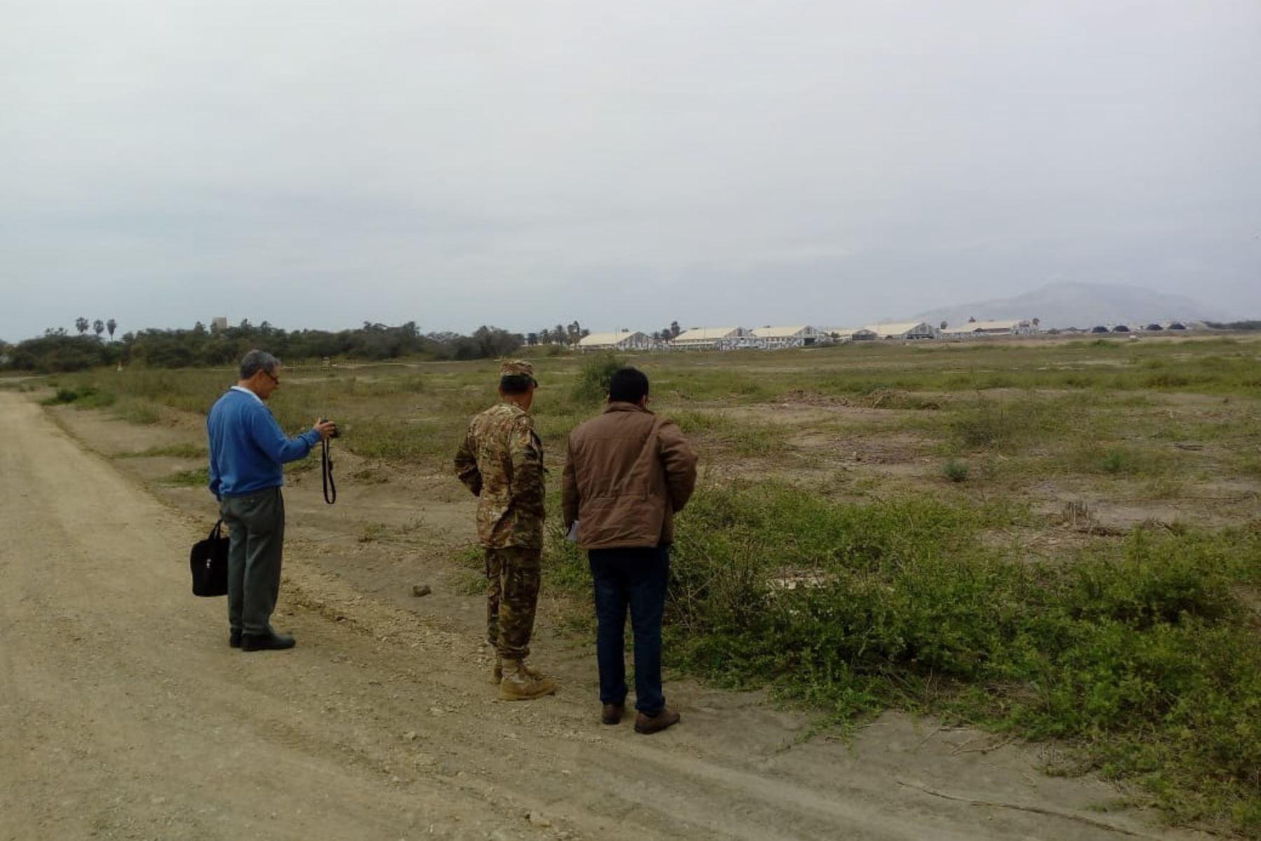 La Fuerza Aérea del Perú entregó al MTC 419,122 metros cuadrados para las obras de ampliación del aeropuerto de Chiclayo, región Lambayeque.