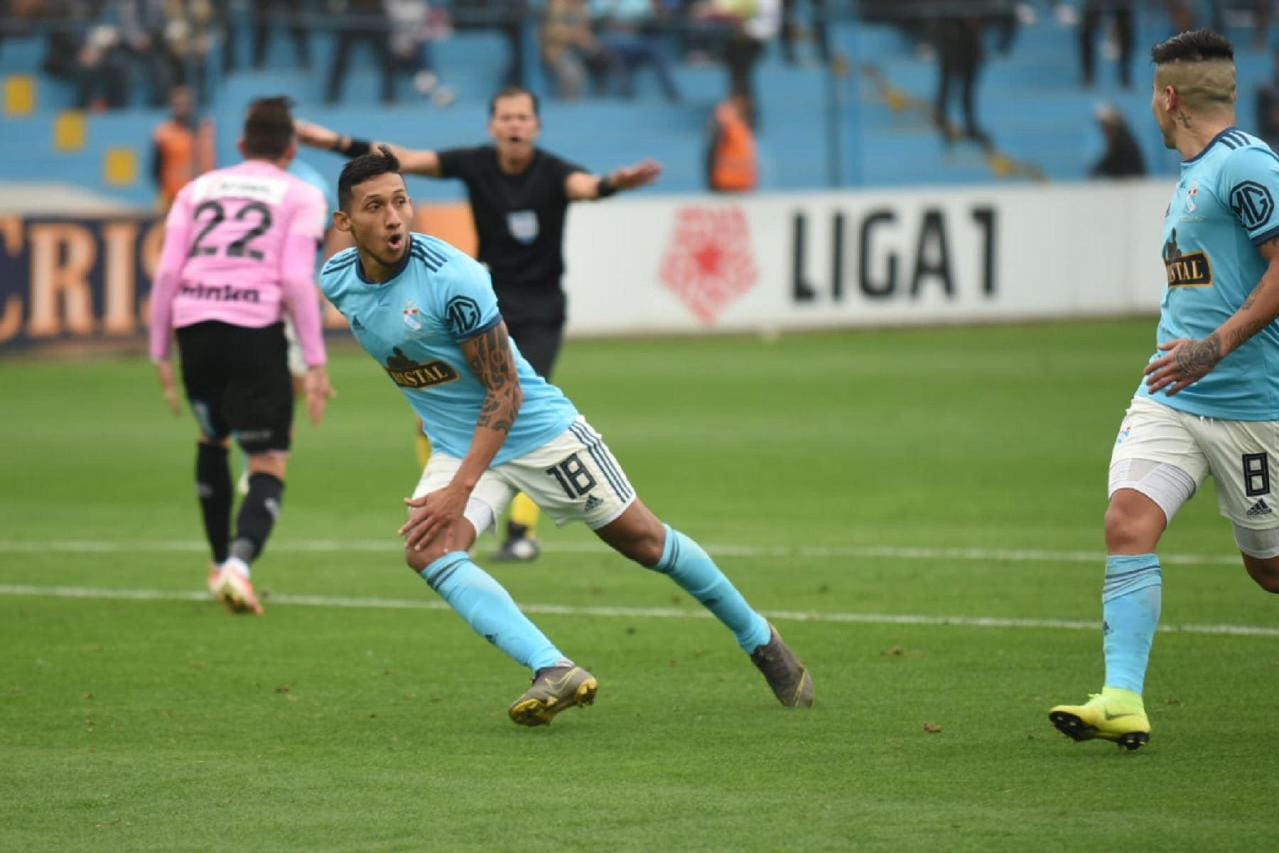 Sporting Cristal jugó como local en el estadio Alberto Gallardo. Foto: Twitter/@Liga1Movistar