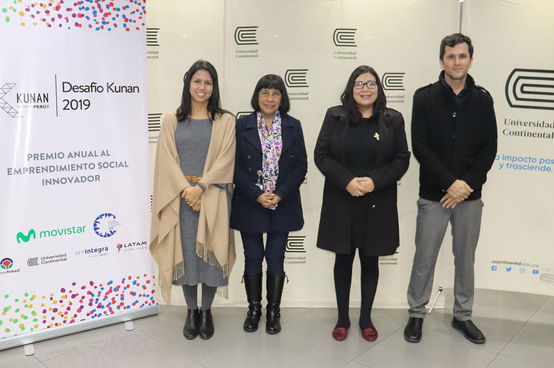 Lanzamiento de Premio Desafío Kunan 2019. Foto: Andina/Difusión