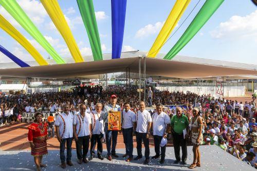 Presidente  Vizcarra  clausura la Expo Amazónica 2019  en  Iquitos