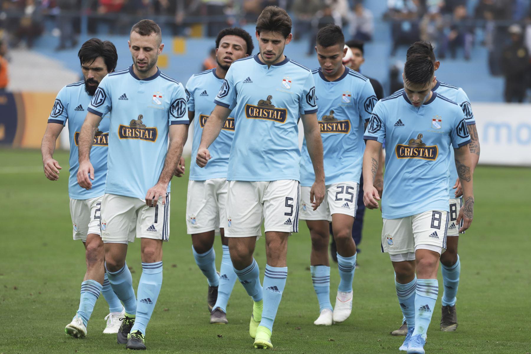 Sporting Cristal cierra el capítulo de Claudio Vivas como director técnico. ANDINA/Jorge Tello