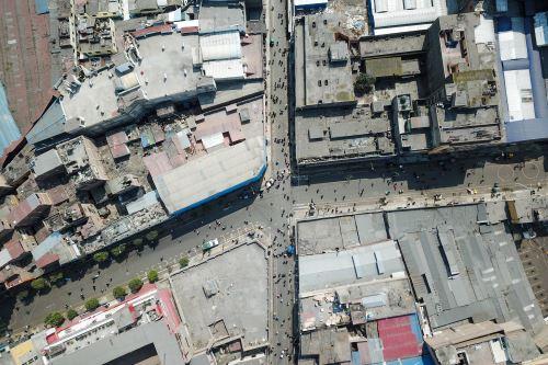 Fotos con dron: Municipalidad Metropolitana de Lima realizó operativo para recuperar espacios públicos en Mesa Redonda