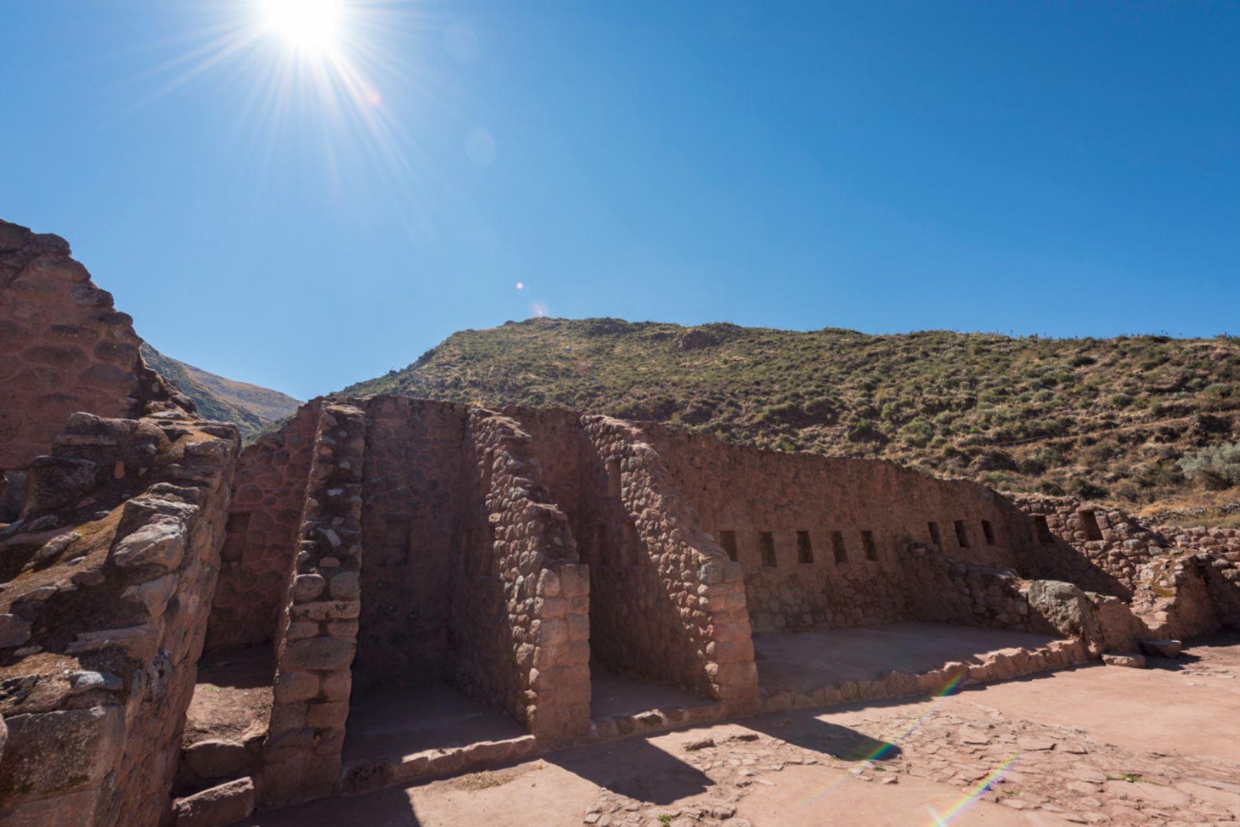 El sector Pukará Alto, ubicado en la parte superior del parque arqueológico Tipón, fue restaurado y puesto en valor por la Dirección Desconcentrada de Cultura del Cusco.