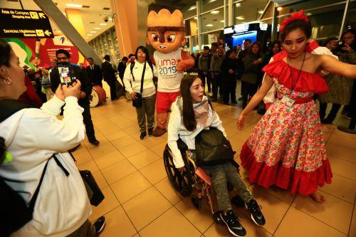 Lima 2019: con baile y música reciben a la delegación de México