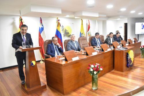 Parlamento Andino ANDINA/Difusión
