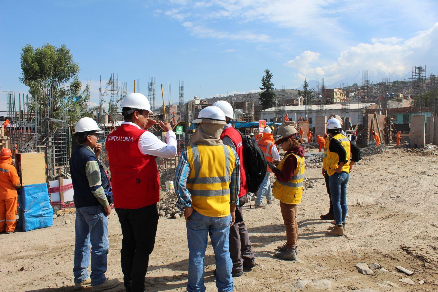 Arequipa solo ejecutó el 5 % de los recursos aprobados para la reconstrucción, revela informe de la Contraloría. ANDINA/Difusión