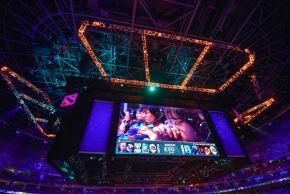 The International se desarrolla en China y reparte 33 millones de dólares. Foto: AFP