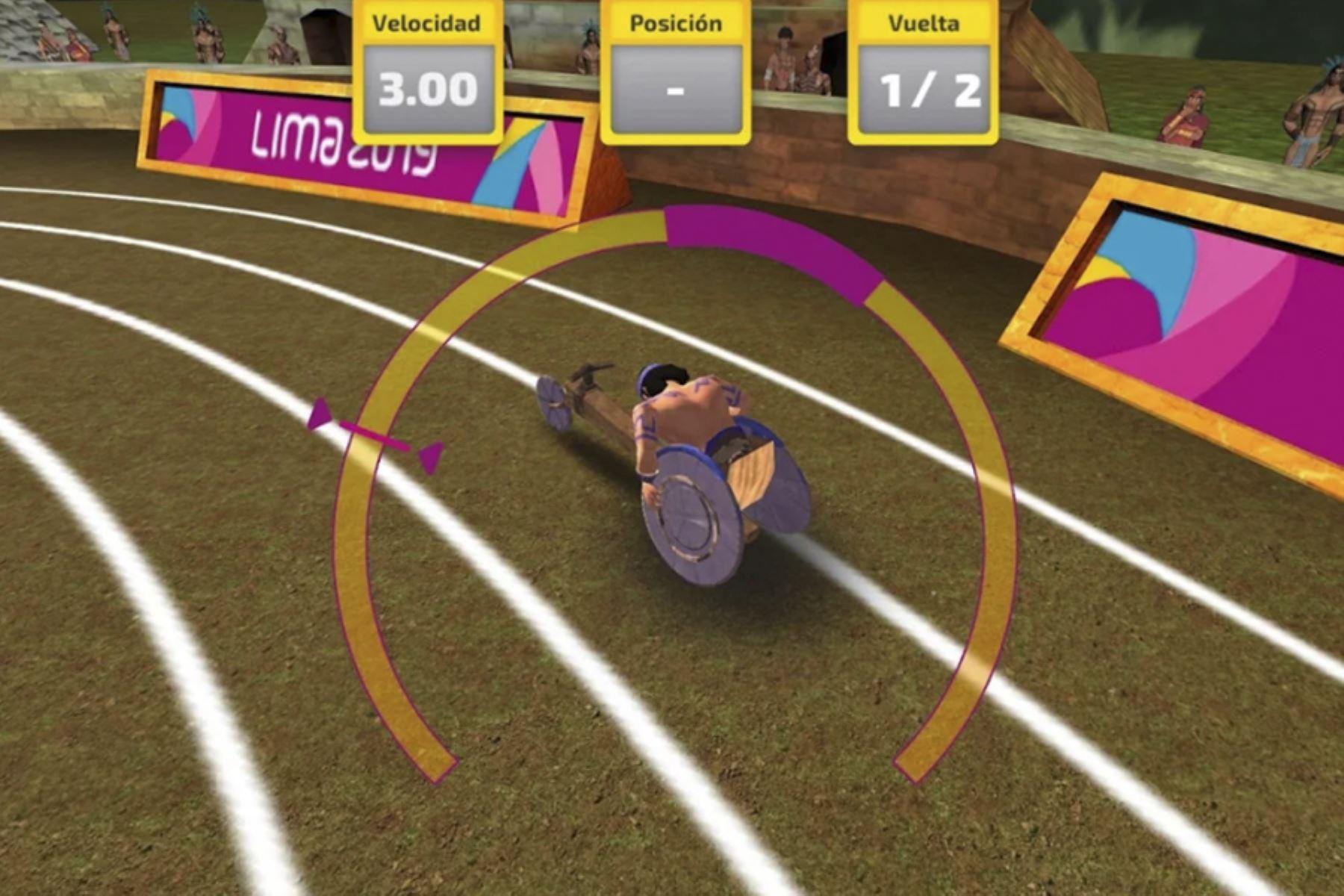 """La aplicación """"Lima 2019 Play"""" permite jugar seis deportes y para deportes desde un smartphone o tableta."""
