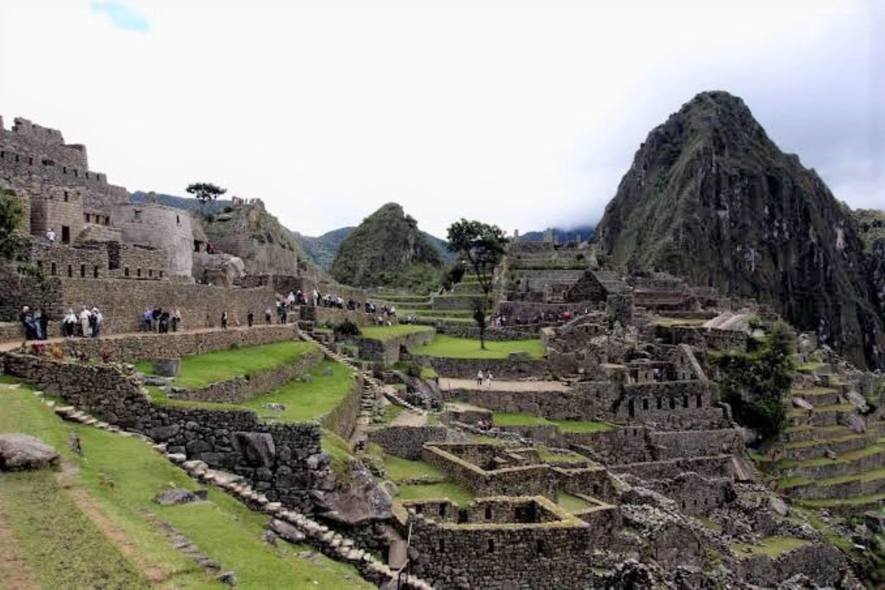 Ciudadela inca de Machu Picchu. Foto: ANDINA/Archivo.