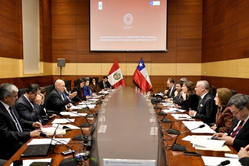 Perú y Chile instalan comisión mixta para conmemoración del Bicentenario