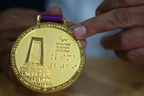 Lima 2019: medallas de Juegos Parapanamericanos tienen textos en braille