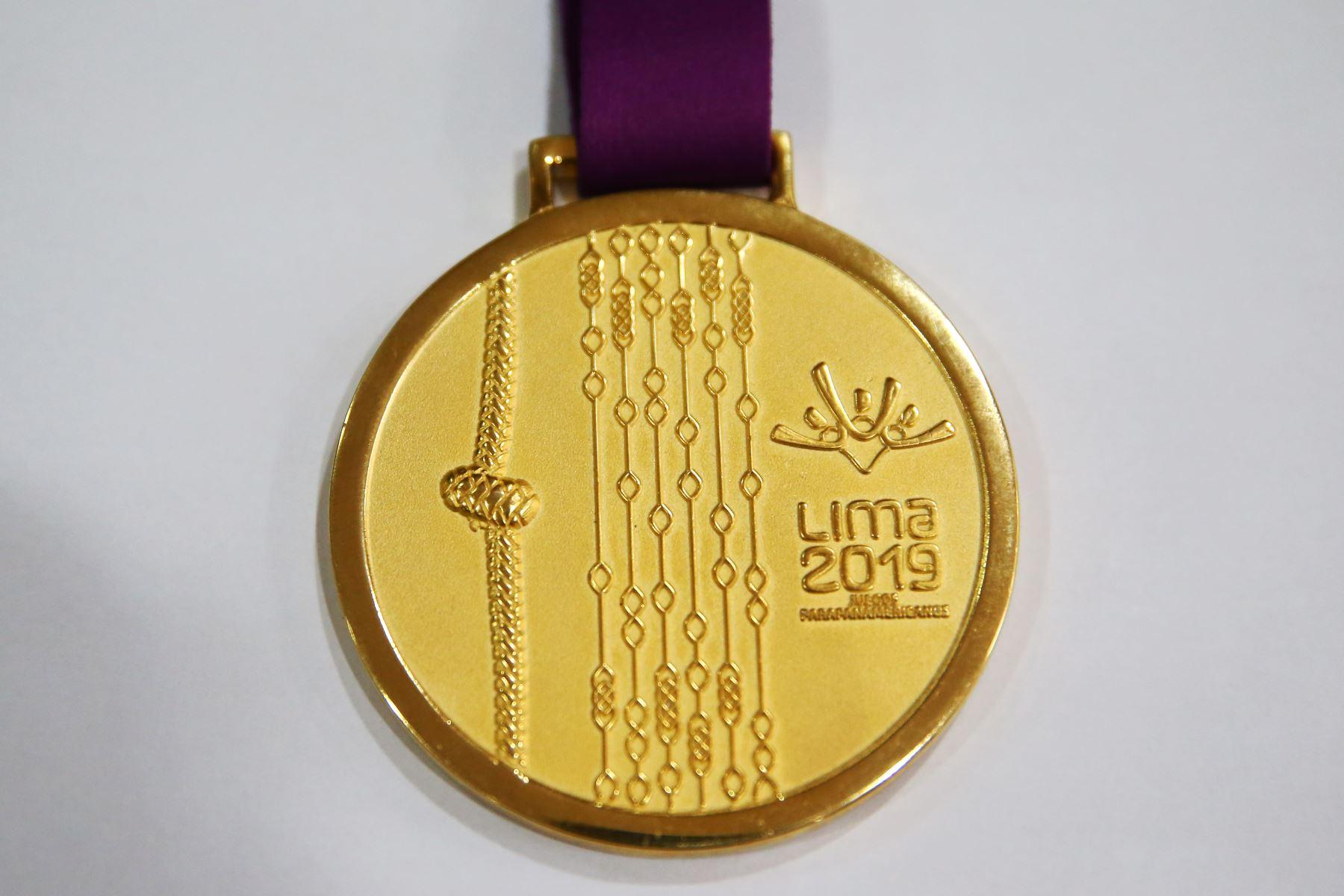 Medallas de los Juegos Panamericanos y Parapanamericanos Lima 2019. Foto: ANDINA/Melina Mejía