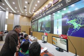 Ministro de Defensa descarta que incendios forestales de Brasil y Bolivia hayan llegado al Perú.