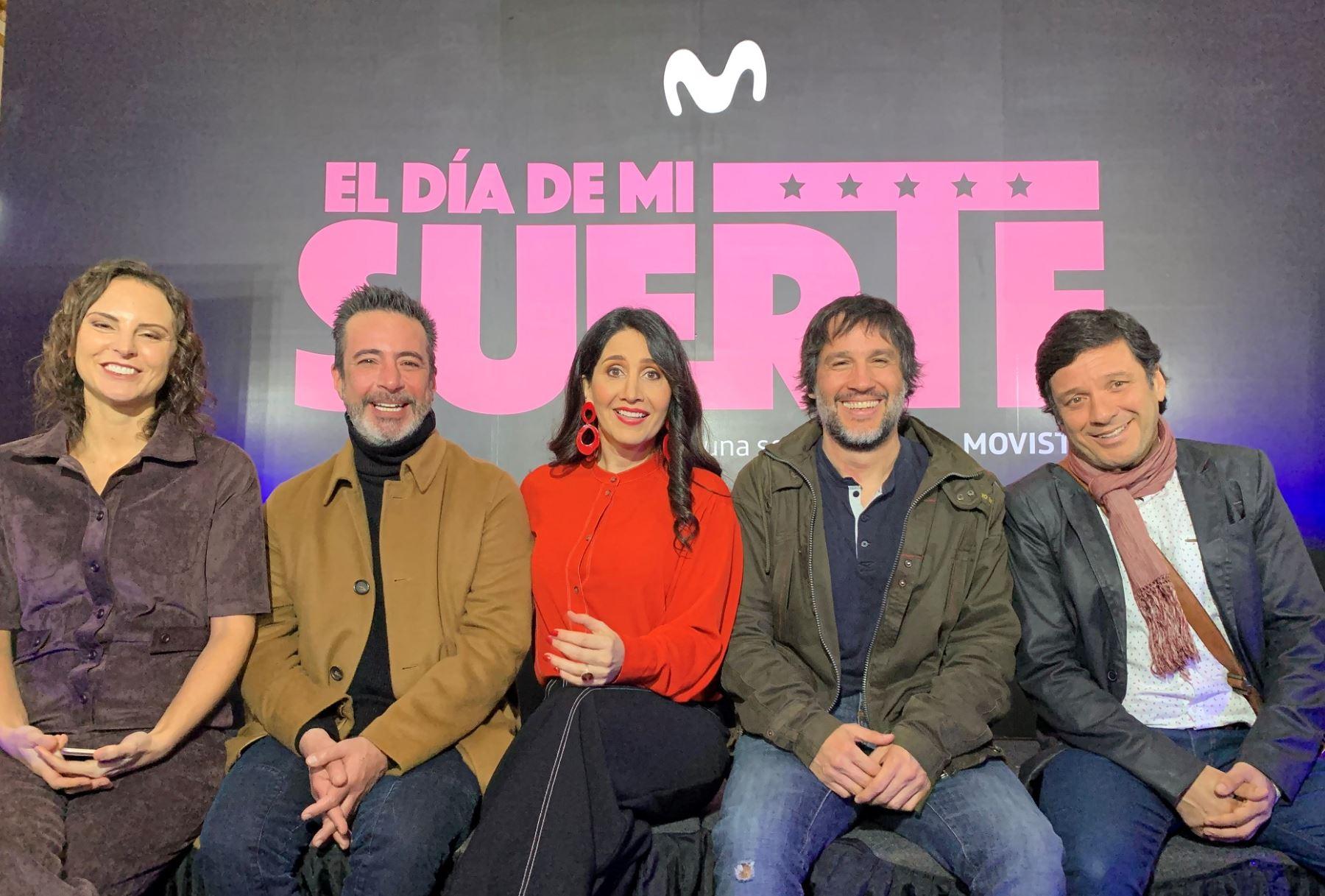 Presentaron la serie inspirada en la leyenda de Héctor Lavoe; en la piel de Lucho Cáceres.
