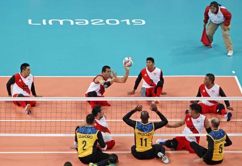 Parapanamericanos Lima 2019: Perú y Brasil se enfrentan en Voleibol sentado