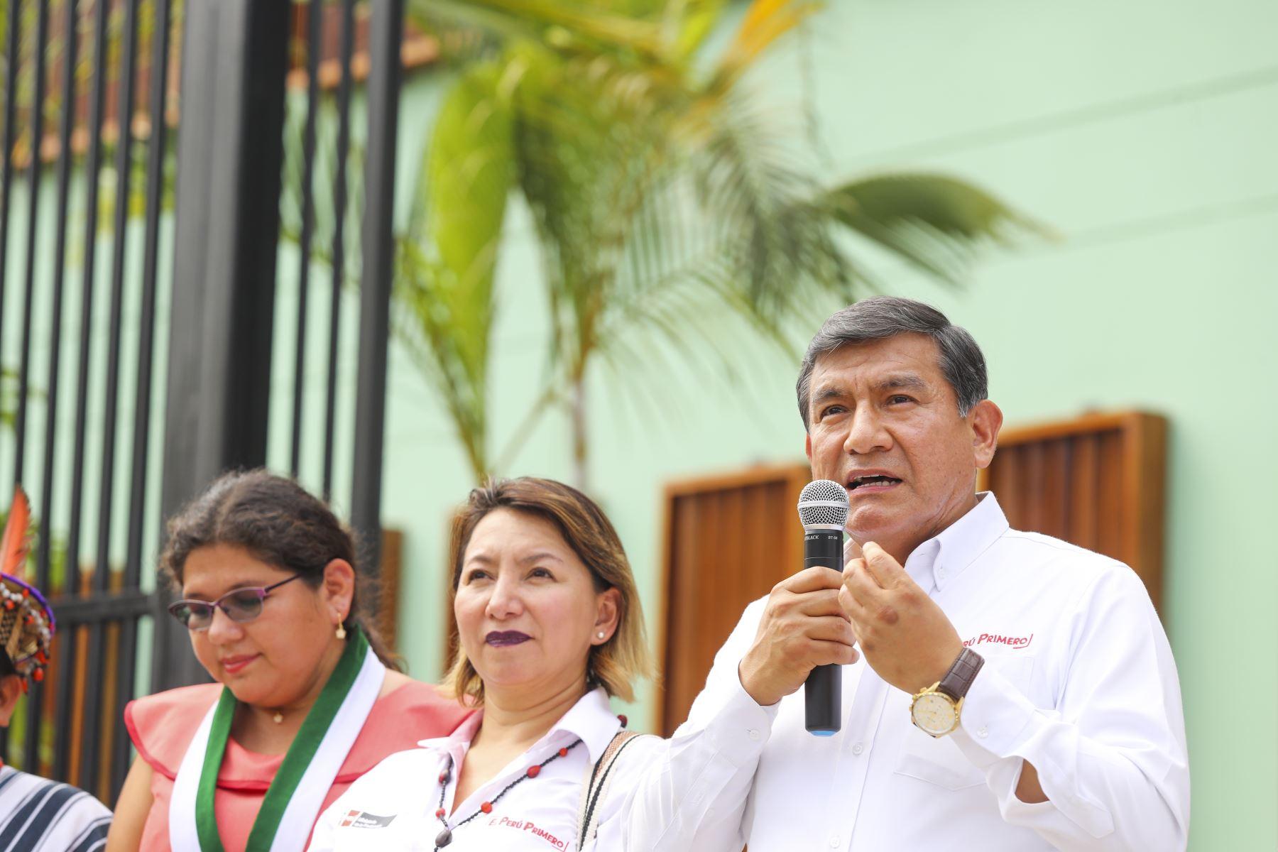 Presidente Vizcarra inaugura Complejo Policial de Río Negro. Foto: ANDINA/Prensa Presidencia