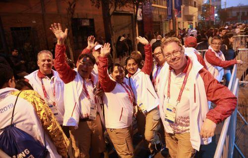 Así se vive el ambiente previo a la inauguración de los Juegos Parapanamericanos Lima 2019