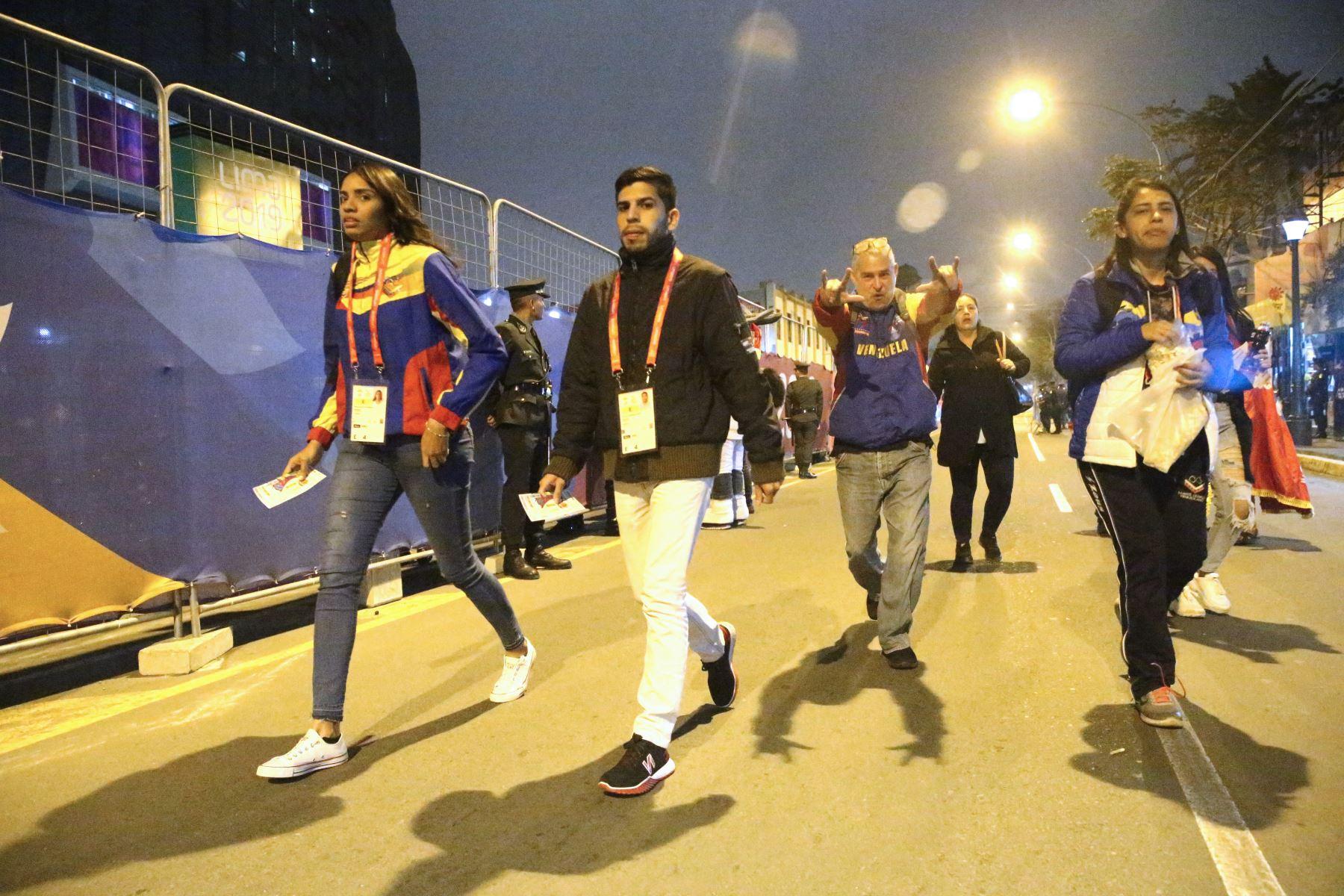 Emoción en los previos a la inauguración de los Juegos Parapanamericanos Lima 2019. Foto: ANDINA/Eddy Ramos