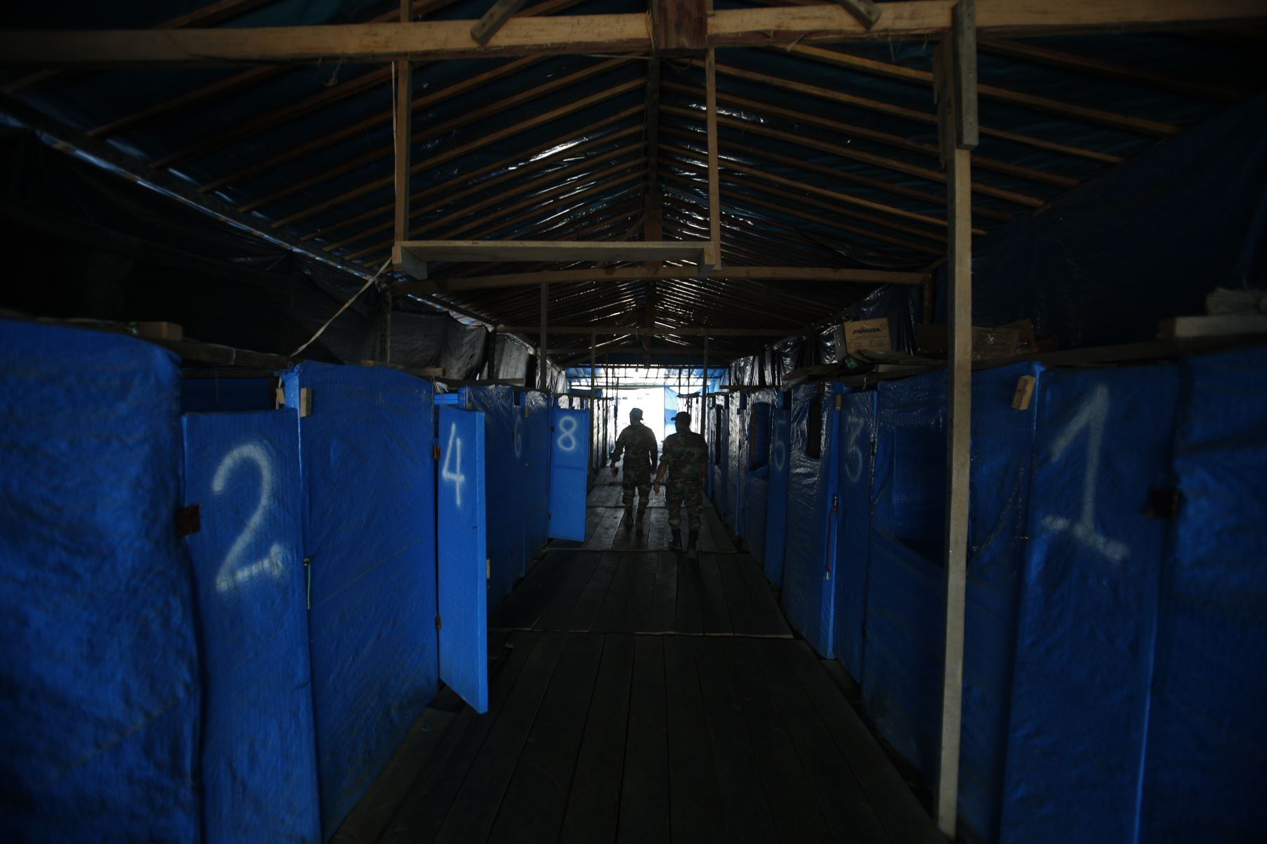 Inspección del Plan Nacional de Minería ilegal. Foto: ANDINA/Renato Pajuelo