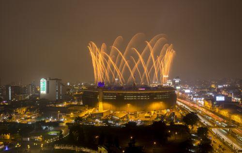 Ceremonia de inauguración de los Juegos Parapanamericanos Lima 2019