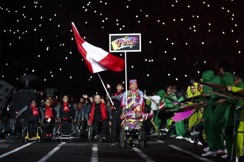 Desfile de paradeportistas de los Juegos Parapanamericanos Lima 2019