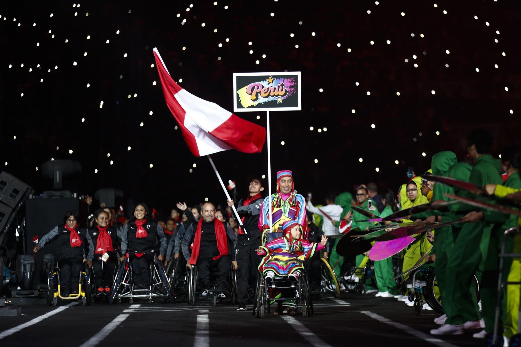 Ceremonia de  inauguración de los Juegos Parapanamericanos Lima 2019, en el estadio nacional.Foto: ANDINA/ LIMA 2019
