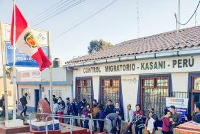 En más de 130% aumentó salida de venezolanos por la frontera de Puno con Bolivia, informó la Superintendencia Nacional de Migraciones.